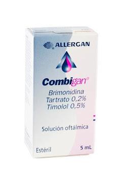 COMBIGAN 0.2/0.5  SOL.   OFT. FCO. X5ML. ALLERGAN BRIMONIDINA TIMOLOL