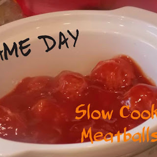 Slow Cooker {Sweet & Tangy} Homemade Meatballs