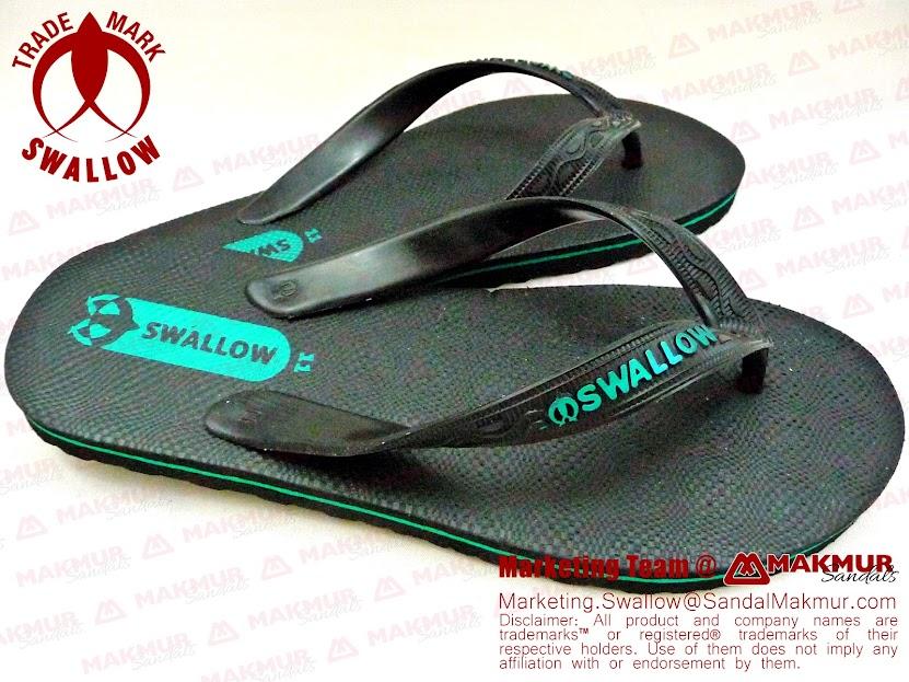 Sandal Jepit Swallow Black Pearl Termurah