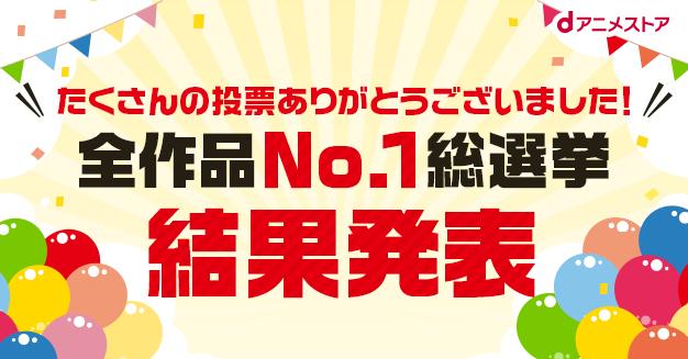 日本最愛 動畫 票選結果出爐!