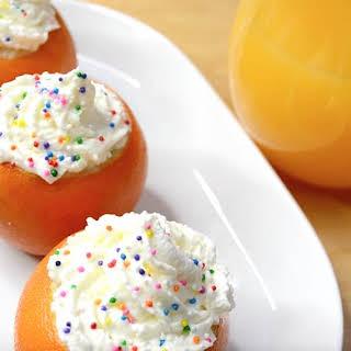 Cake Inside Orange.