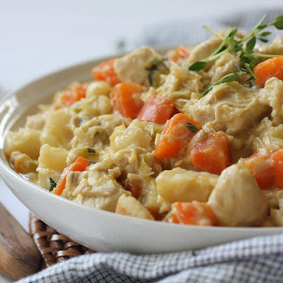 Creamy Chicken and Leek Stew (AIP, Paleo, SCD, Whole30)