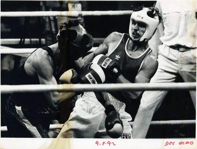 Un grande en la historia del boxeo.