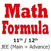 Math Formula for 11th 12th