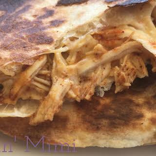 Easy Chicken Quesadillas.