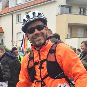 Didier participe au rallye cyclo Lille Hardelot pour soutenir L'Arche au Bangladesh