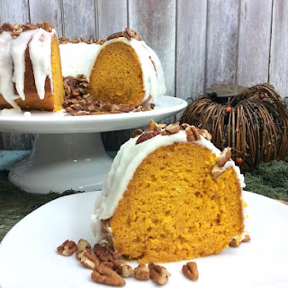 Cake Mix Pumpkin Bundt Cake.