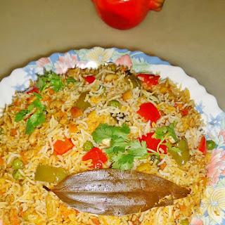 Bombay Biryani Recipe | Wedding Style Veg Dum Biryani