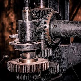 by Ralf  Harimau - Artistic Objects Industrial Objects ( fellenbergmühle, metal, precision mechanics, museum, feinmechanik, meuseum, metall )