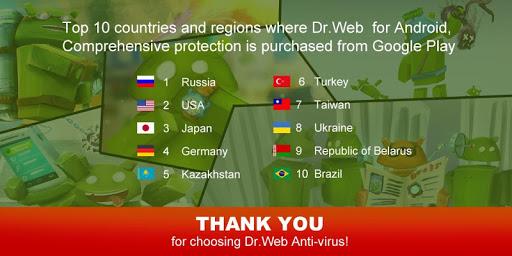 Anti-virus Dr.Web Light screenshot 1