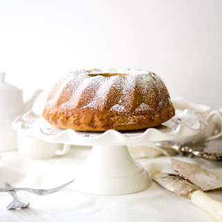 Honey Milk Tea Bundt Cake