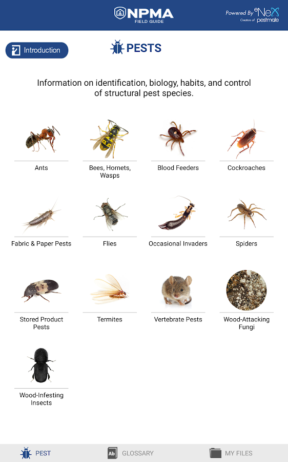 NPMA Field Guide- screenshot