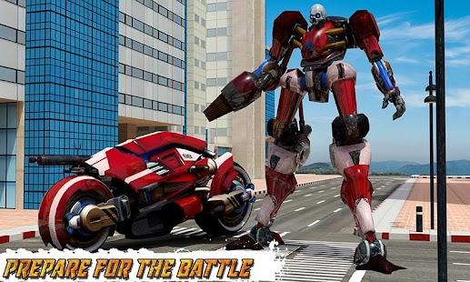 Moto Robot Transformation- screenshot thumbnail