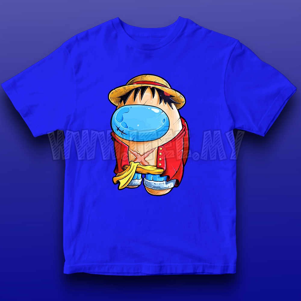 Monkey D. Luffy Straw Hat  One Piece Among Us Impostor 20