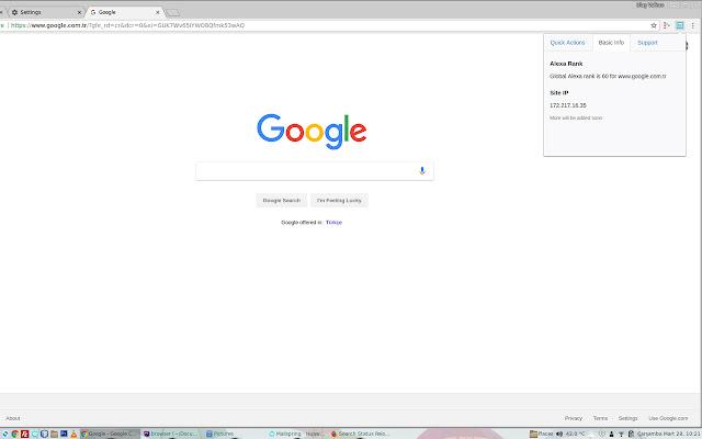 Search Status Reload