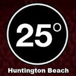 Logo for 25 Degrees Huntington Beach