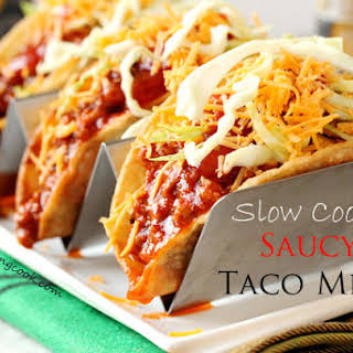 Slow Cooker Taco Meat.