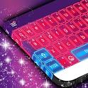 Pink Neon Keyboard Theme (New) icon