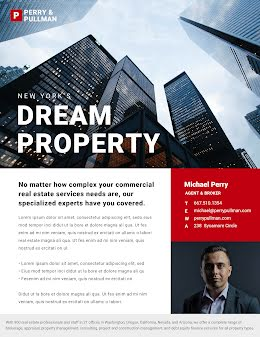 Dream Property - Real Estate Flyer item