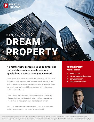 Dream Property - Flyer Template