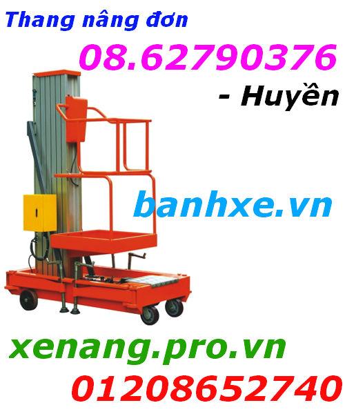 Thang nâng điện 150kg nâng cao 8m giá rẻ - 01208652740 - Huyền