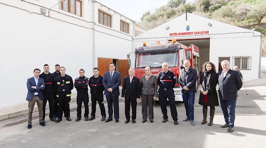 Los bomberos de Canjáyar ya dan servicio a los vecinos de 23 municipios