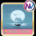 Sea Xperia theme icon