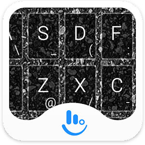 download Cool Black Keyboard Theme apk