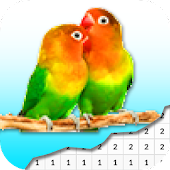 Beautiful Bird Coloring By Number - Pixel Android APK Download Free By Success STF