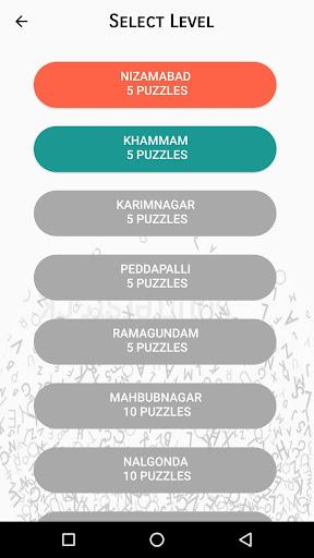 Pada Keli - Telugu Word Search screenshot 2