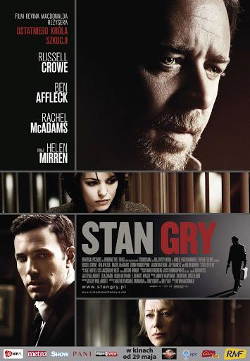 Polski plakat filmu 'Stan Gry'
