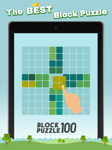 Block Puzzle 100 - Fill lines by tangram cube screenshots 11