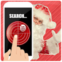 Where Santa Claus scanner icon