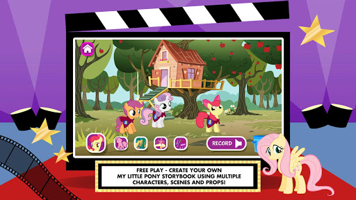 My Little Pony: Story Creator Apps (apk) free download for Android/PC/Windows screenshot