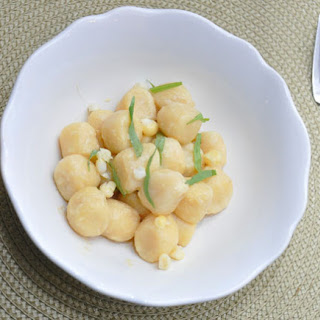Sheep'S Milk Ricotta Gnocchi with Corn and Tarragon Recipe