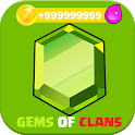 Gems Calc For Clash Free icon