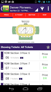 Vegas Tickets- screenshot thumbnail
