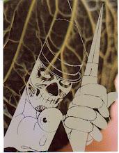 Photo: Mail Art 366 - Day 108, card 108b a clockwork cabbage