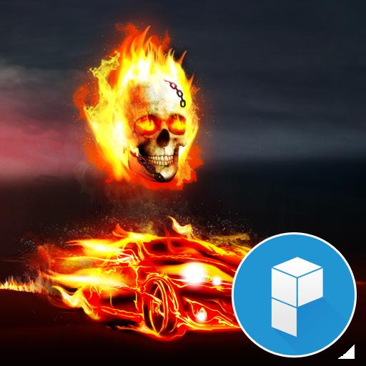Fire Launcher Theme