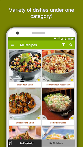 Salad Recipes: Healthy Foods with Nutrition & Tips 2.2.4 screenshots 5