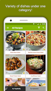Salad Recipes: Healthy Foods with Nutrition