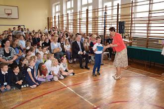 Photo: Zakończenie roku szkolnego klas 0-III - wyróżnieni uczniowie