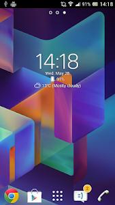 Digital Clock Widget Xperia 6.0.1.401 (Premium)