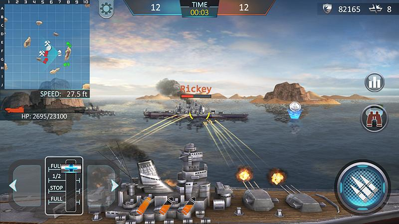 warship attack 3d android apps on google play. Black Bedroom Furniture Sets. Home Design Ideas
