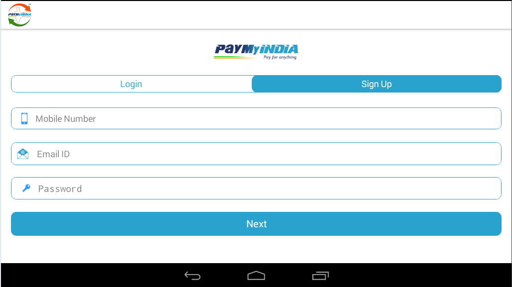#6. PayMyIndia Recharge & PayBills (Android)
