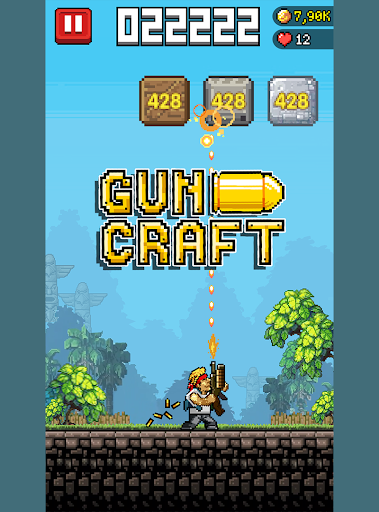 Gun Craft – Gunman Game to Break Rocks - screenshot