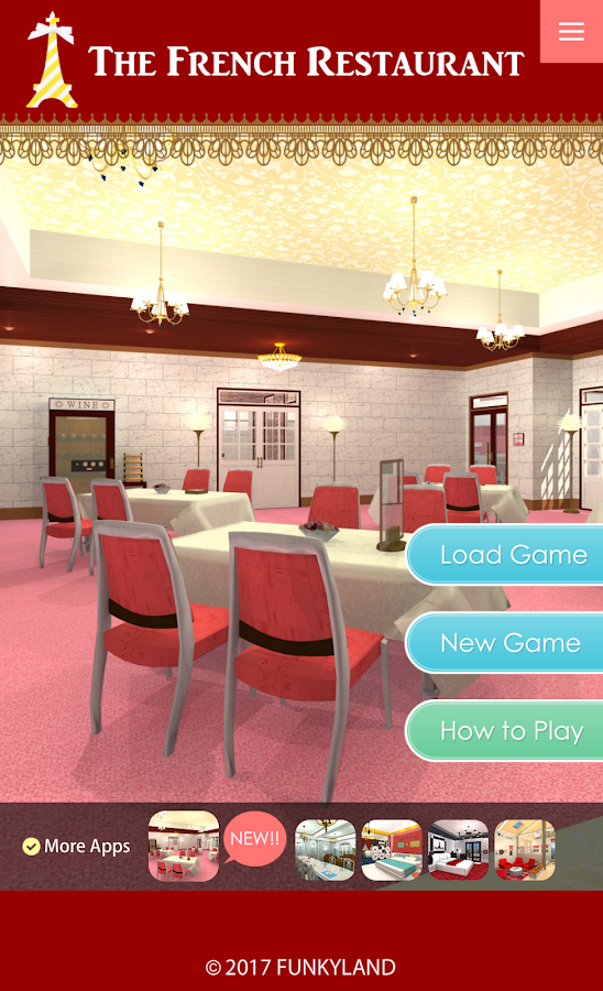 Escape a French Restaurant- screenshot