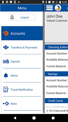 Mercantil Mobile  screenshots 3