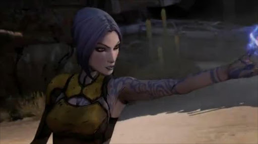 A screenshot from Borderlands 2