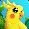 Bird Land Paradise: Pet Shop Game, Play with Bird icon